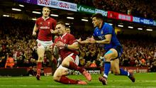 Rugby Union - Six Nations Championship - Wales v Italy. Wales' George North in action.  REUTERS/Rebecca Naden