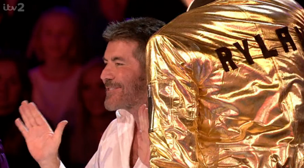 Simon Cowell stuns viewers with crude gay joke about Rylan Clark-Neal