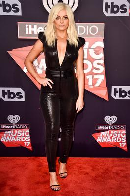 Singer Bebe Rexha attends the 2017 iHeartRadio Music Awards which broadcast live on Turner's TBS, TNT, and truTV at The Forum on March 5, 2017 in Inglewood, California.  (Photo by Alberto E. Rodriguez/Getty Images)