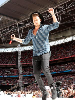 Liam Payne of One Direction performs on stage during Capital FM's Summertime Ball at Wembley Stadium, London. PRESS ASSOCIATION Photo. Picture date: Saturday June 6, 2015. See PA story SHOWBIZ Summertime. Photo credit should read: Yui Mok/PA Wire