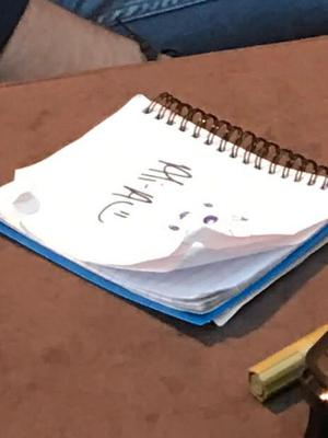 The lost notebook