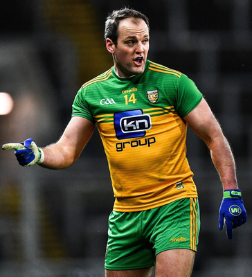 Talk of Donegal, and the conversation always turns to the inspirational Michael Murphy. Photo: Eóin Noonan/Sportsfile