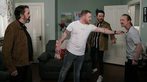Anto fails to contain his anger at Liam's deception