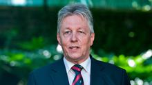 Former Northern Ireland First Minister Peter Robinson. Photo: AFP/Getty
