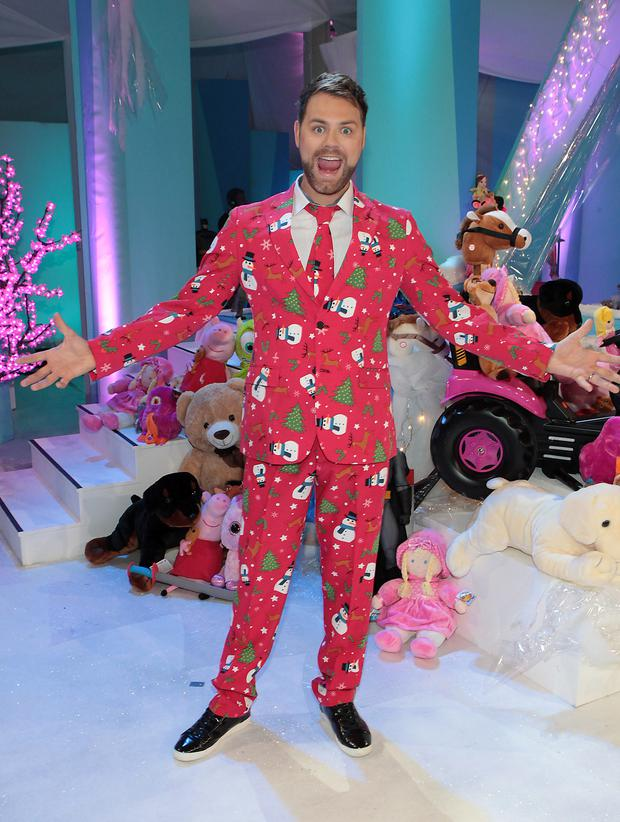 Brian McFadden at TV3's Toy Show