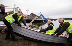 Tony McCoy and Paul O'Connell push the boat out for the Limerick spring clean