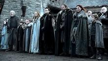 The Starks in Game of Thrones. Photo: HBO