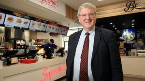 SUPERMACS boss Pat McDonagh has been criticised in the Dáil