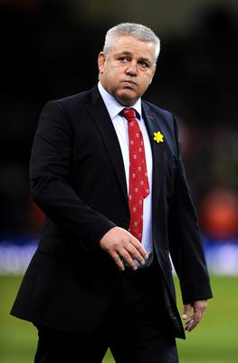 Wales head coach Warren Gatland before the RBS 6 Nations match at the Millennium Stadium against France