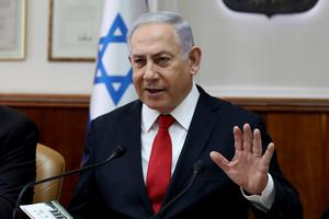Concern: Benjamin Netanyahu wants to meet threat posed by Iran. Photo: Gali Tibbon/Pool via Reuters