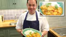 Top chef Neven Maguire pictured in MacNean House and Cookery School with his Family Friendly Chicken Curry