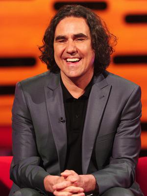 Micky Flanagan during filming of The Graham Norton Show