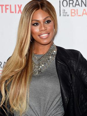 """Laverne Cox attends the """"Orangecon"""" Fan Event at Skylight Clarkson SQ. on June 11, 2015 in New York City.  (Photo by Jamie McCarthy/Getty Images)"""