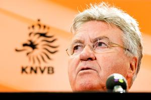 Guss Hiddink turned a team that finished third in the World Cup into one unable to negotiate the most generous qualifying format in history Photo: Koen van Weel/AFP/Getty Images