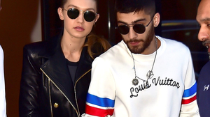 Gigi Hadid and Zayn Malik are seen in Soho on June 10, 2016 in New York City.  (Photo by Alo Ceballos/GC Images)