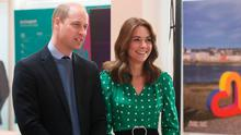 The Duke and Duchess of Cambridge during a special event at the Tribeton restaurant in Galway to look ahead to the city hosting the European Capital of Culture in 2020