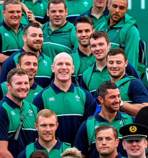 Munster legend Paul O'Connell will provide vital leadership for his Irish team-mates