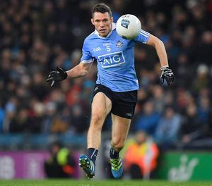 Dublin's Darren Daly playing in the league back in 2017. Photo: Sportsfile