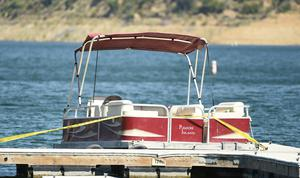 The boat that was rented by Naya Rivera (Chris Pizzello/AP)