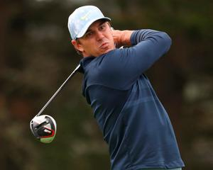 Brooks Koepka in action at the US PGA