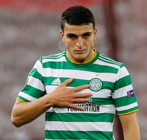 Celtic's Mohamed Elyounoussi. Photo: Reuters