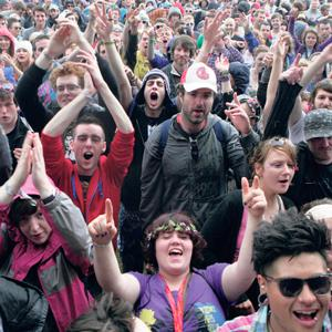 NO GOER? Revellers at Electric Picnic