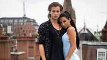 PICTURE PERFECT: Natasha Grano with boyfriend Elijah Rowen. 'He's very important to me,' she says