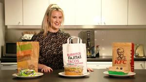 Vegetable patch: Aoife Walsh takes the fast food test