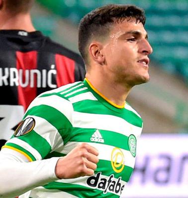 Celtic's Mohamed Elyounoussi. Photo: PA