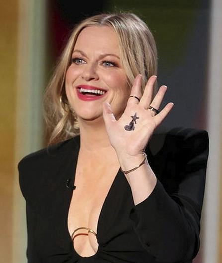 Amy Poehler at the 78th Annual Golden Globe Awards NBC Handout via REUTERS