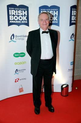 Jeffrey Archer at the Bord Gais Energy Irish Book Awards at the Double Tree by Hilton Hotel in Dublin. Picture:Arthur Carron