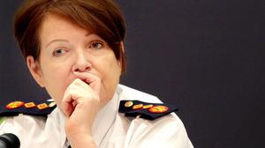 Garda Commissioner Noirin O'Sullivan Picture: Gerry Mooney