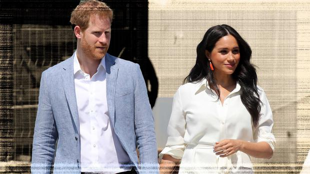 Prince Harry, Duke of Sussex and Meghan, Duchess of Sussex visit a township to learn about Youth Employment Services on October 02, 2019 in Johannesburg, South Africa. (Photo by Chris Jackson/Getty Images)