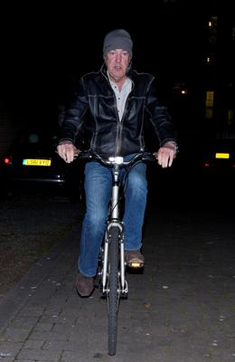 British television presenter Jeremy Clarkson leaves his home in west London. Reuters/Suzanne Plunkett