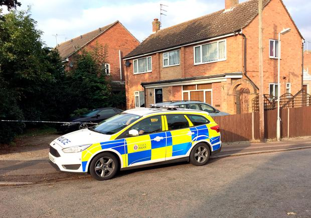 Police outside a house on the junction of Harwich Road with Tara Close in Colchester, Essex, after a baby boy was killed and a second child injured in a dog attack Credit: Sam Russell/PA Wire