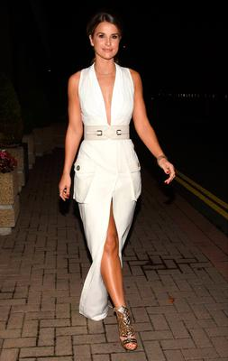 Vogue Williams at The Late Late Show,