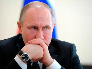 Mr Putin is expected to formally announce his response later this week. Photo: AP