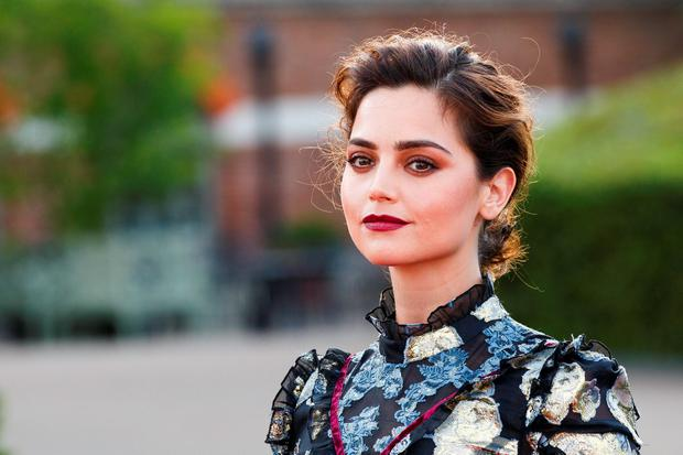 Jenna Coleman at the premiere screening of ITV's Victoria at The Orangery on August 11. (Photo by Tristan Fewings/Getty Images)