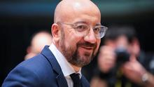 Challenge: Charles Michel at the EU leaders' summit in Brussels he chaired. Photo: REUTERS