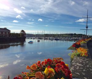 """A picture taken at 8.44am on August 8th - a beautiful quiet morning in Kinsale town with a freshly brewed coffee in hand for a morning stroll,"" says Ian O'Brien. ""All calm before the town gets ready for the hustle and bustle of the tourist trade..."""