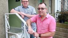 Providing a home away from home: Foster parents Dave Thomas and Patrick Bracken