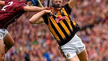 Johnny Coen's high tackle on Colin Fennelly of Kilkenny should have ended in red for the Galway defender