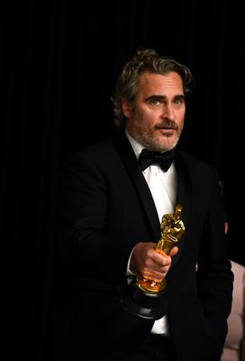 Joaquin Phoenix was named best actor at the 92nd Academy Awards (Jennifer Graylock/PA)