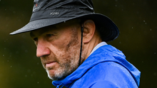 Scrum coach Robin McBryde during Leinster Rugby squad training at UCD in Dublin. Photo by Ramsey Cardy/Sportsfile