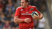CJ Stander will be eligible to play for Ireland after next year's World Cup, which should be on the agenda if he maintains his current run of form with Munster. Photo: Brendan Moran / SPORTSFILE