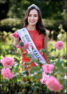 Limerick Rose Sinead Flanagan who was crowned the 2019 International Rose of Tralee