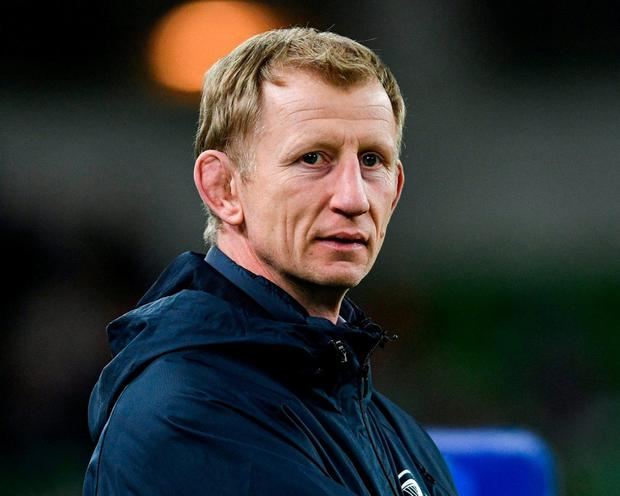 Leinster head coach Leo Cullen. Photo: Ramsey Cardy/Sportsfile