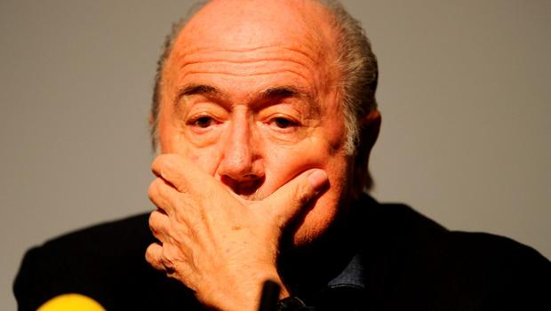 Sepp Blatter has announced his resignation as president of FIFA. Photo: PA