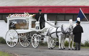 The funeral of James 'Jay' Griffin Picture by Fergal Phillips