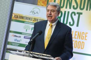 Ted McKinney, United States Department of Agriculture Under Secretary for Trade and Foreign Agricultural Affairs delivered the keynote address at the Agricultural Science Association (ASA) annual conference 'From Trade Wars to Consumer Trust: The Challenge For Agri-Food' at the Killashee Hotel in Naas today. Pic Finbarr O'Rourke